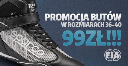 Promocja butów Sparco