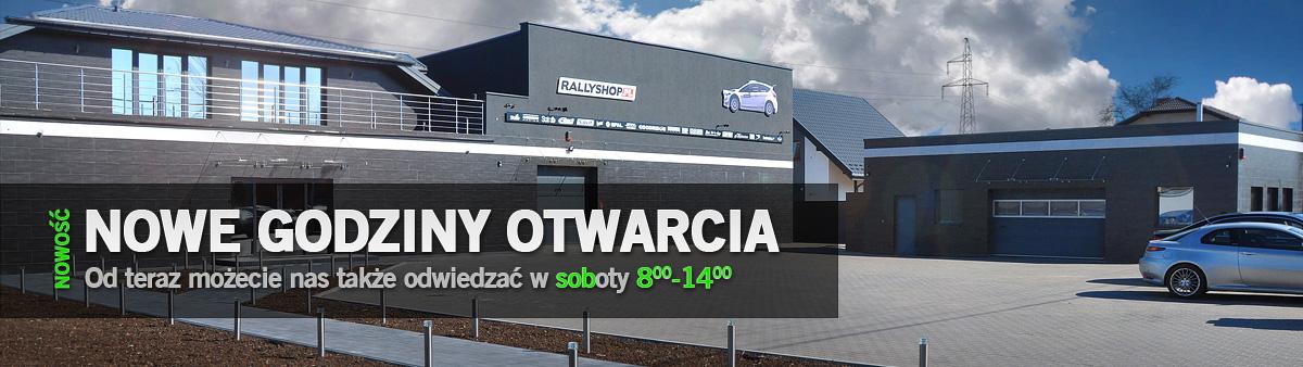 Nowe godziny otwarcia Rallyshop.pl - Teraz również w sobotę