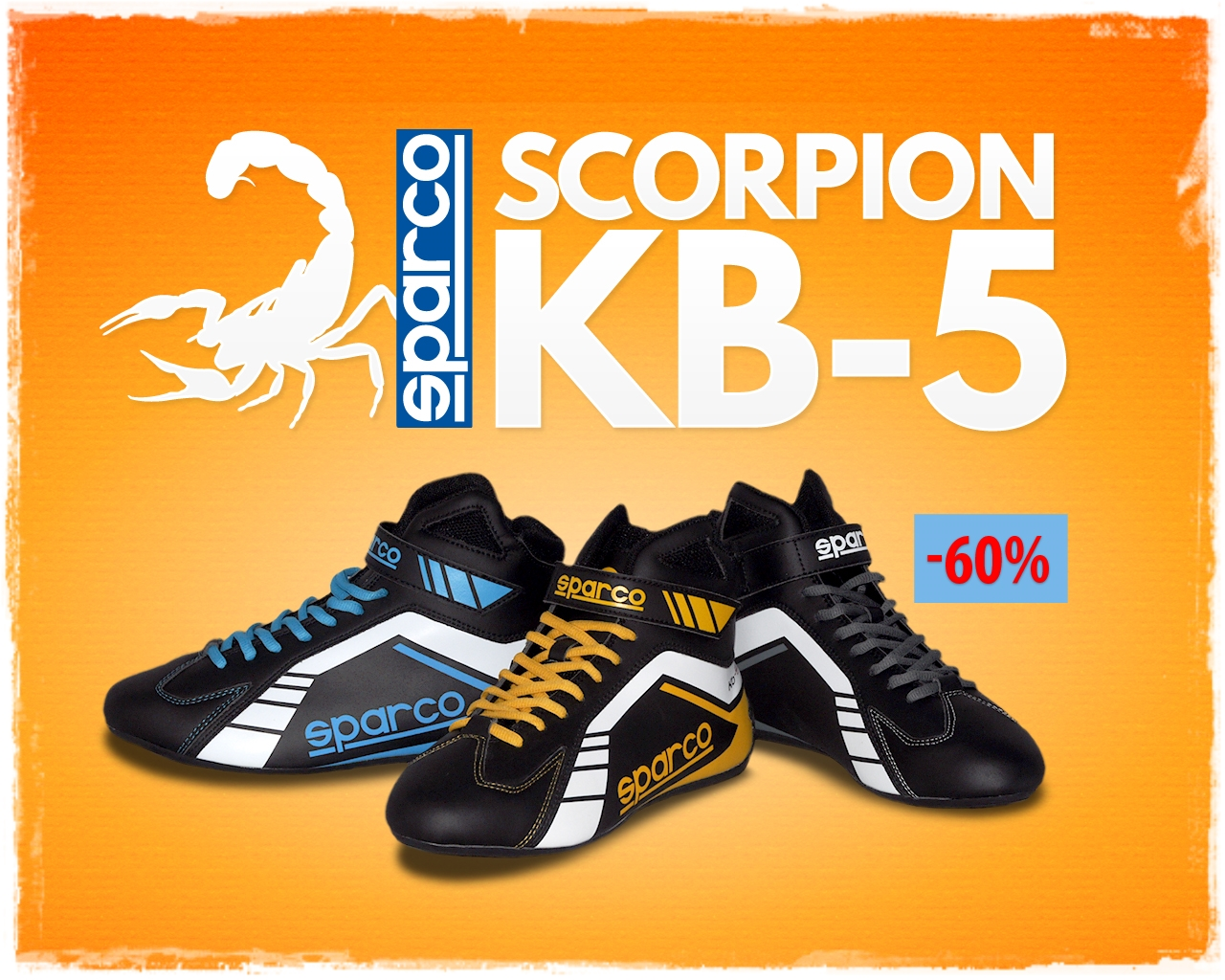 00077dbe6f0e7 Zapatillas SPARCO SCORPION KB-5 Zapatos negro BOTAS carrera rallies ...