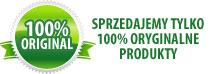 Sprzedajemy tylko 100% oryginalne produkty