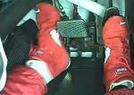 Praca butów podczas jazdy